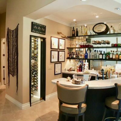 Scottsdale Remodel with Home Bar